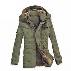 Winter Cotton-Padded Outdoor Jacket