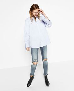SKINNY TROUSERS-View all-JEANS-WOMAN | ZARA United States