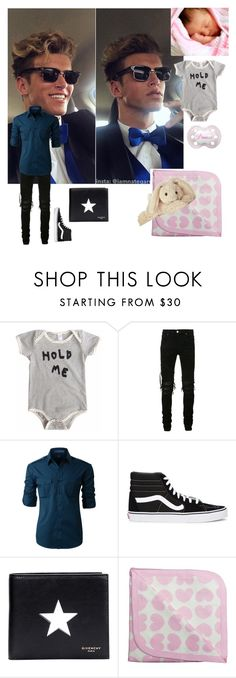 """""""Hunter and Ellie"""" by totalloser ❤ liked on Polyvore featuring AMIRI, LE3NO, Vans, Givenchy, Monica + Andy and Cotton Candy"""