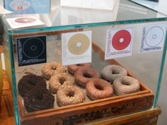 Doughnut Plant Display Case