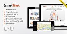 Site Templates - SmartStart - Responsive HTML5 Template | ThemeForest - only $15