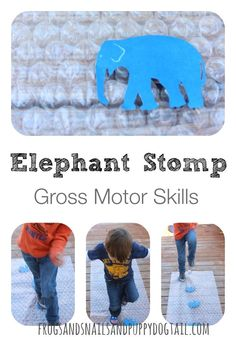 Elephant Stomp Gross Motor Activity on FSPDT