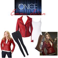 Emma Swan Inspired, created by enchantingfantasy on Polyvore