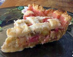 Rhubarb Pie - A Taste of Spring