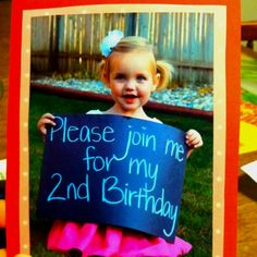 Birthday Invitations --- @Ashley Zika For some reason I can see Jaylee doing this!