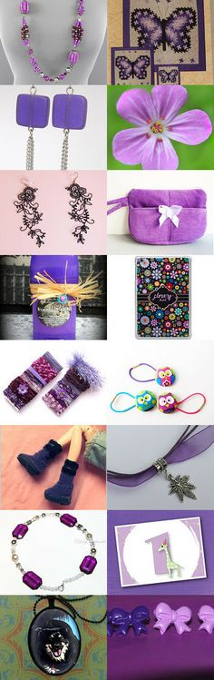 Purple sunday. by Eva M Hermida on Etsy--Pinned with TreasuryPin.com