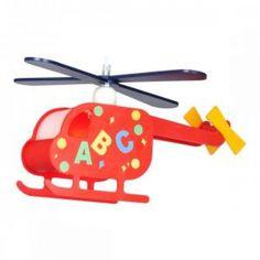Candelabru pentru copii elicopter cu litere KITA 15722 marca Globo