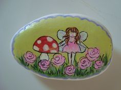 Fairy Painted Rock