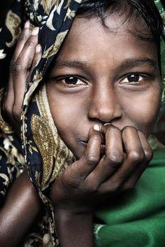 Eyes- David Lazar. Girl from Srimangal.