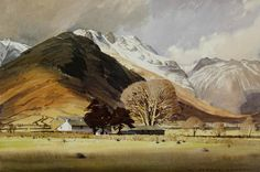 Wallend Farm Langdale (framed print) | Framed prints by William Heaton Cooper | Prints of paintings by William Heaton Cooper | Fine Art Prints | FINE ART GALLERY | Home | Heaton Cooper Studio
