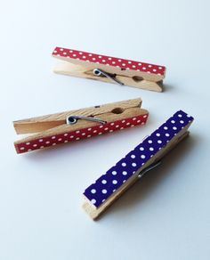 Red Hat Society Store Blog: Easy DIY  Decorative Clothespins!