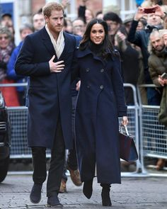 """5,691 Likes, 29 Comments - Marie Claire (@marieclairemag) on Instagram: """"Meghan Markle and Prince Harry looked so in love during their first official public outing in…"""""""