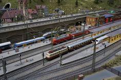 Irgendwo in Deutschland. Budapest, Loki, Train, Hungary, Model Train, Strollers, Curls