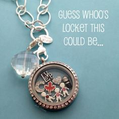 Guess Whoo's locket this might be? www.facebook.com/charmingdancers