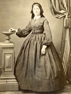 CIVIL WAR CDV YOUNG LADY BY RUSSELL OF NEW YORK