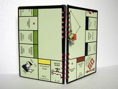 Journals out of board games