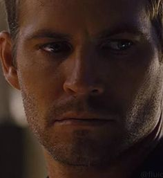 Paul Walker-Paul Weaver. That look!