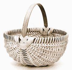 FREE Online Melon Shaped Egg Basket Instructions and others Bamboo Basket, Egg Basket, Wicker Baskets, Paracord, Basket Weaving Patterns, Making Baskets, Willow Weaving, Weaving Art, Weaving Techniques