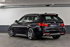 image of BMW F31 3 Series On VMR 706 Gunmetal Wheels 4 750x500
