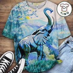 Elephant Shirt Elephant Shirt, Border Collie, Lovers, Animal, Mens Tops, Poster, Shirts, Women, Fashion