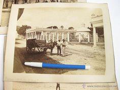 Fotografía antigua: TRES FOTOGRAFIAS DE LA HABANA. CUBA. CALZADA DE EL CERRO Y EL TULIPAN. 1873 - Foto 2 - 45128777
