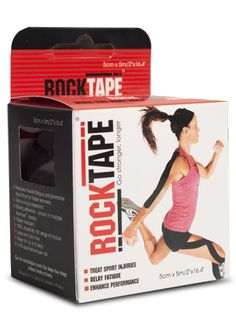 Rock Tape Standard Rock Tape Black #SkinCare #AntiAging  #Sports #Supplements #Fitness #BodyFitness #BodyBuilding