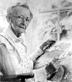 GRANDMA MOSES  Born:  07 September 1860; Greenwich (town), New York,, United States        Died:  13 November 1961; Hoosick Falls, New York, United States                    Field:  painting        Nationality:  American        Art Movement:  Naïve Art (Primitivism)