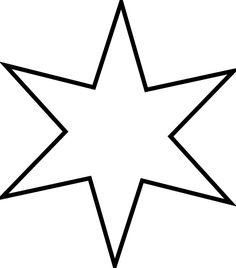 Estrellas De Navidad Para Colorear şablon Navidad Estrellas De
