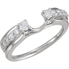 1/2 Carat TW Diamond Ring Wrap   Ref. 650950 2 Carat, Jewelry Design, Engagement Rings, Diamond, Enagement Rings, Wedding Rings, Diamonds, Diamond Engagement Rings, Engagement Ring