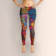 African Style No7, Wedding Day, Leggings, African Leggings, Ankara Leggings, Women Leggings, Yoga Leggings, Yoga Pants, Clothing, Pants