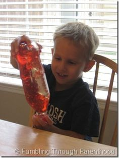 Great Science Activity. Sun in a bottle.