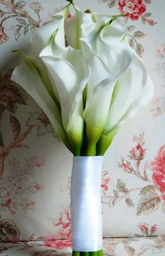 For @Jar Zen - Calla bouquet; simple and classic