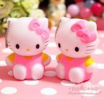 2pcs Hello kitty Pendant keychain