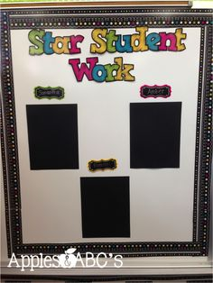 Chalkboard Brights Bulletin Board Display