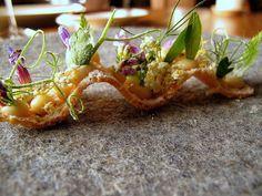 Noma - Toast, vilde urter, pighvarrogn og eddike 2 by Food Snob, via Flickr