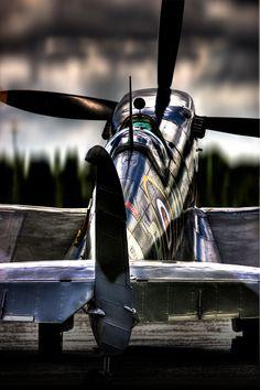 "thephotonomad: ""The Spit The Spitfire – ein wahrhaft elegantes Flugzeug … The Sp … - Aircraft design Ww2 Aircraft, Fighter Aircraft, Aircraft Carrier, Military Aircraft, Fighter Jets, Avion Jet, Aviation Theme, The Spitfires, Supermarine Spitfire"