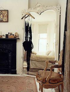 Floor Length Mirror - bedroom nook