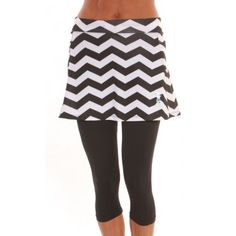Running skirt with built in leggins