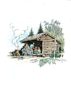 Adirondack Lean-to plans DIY. stilesdesigns.com