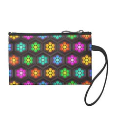 Cute Flower Pattern Coin Wallet - girly gift gifts ideas cyo diy special unique
