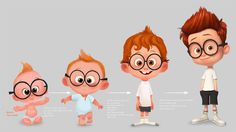 Avner Geller: Peabody Art part 3 ★ Find more at… Character Design Cartoon, Kid Character, Character Design References, Character Drawing, Character Illustration, Character Concept, Illustration Inspiration, Concept Art World, Animation