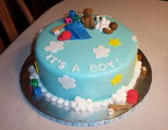 Boy Shower Cake