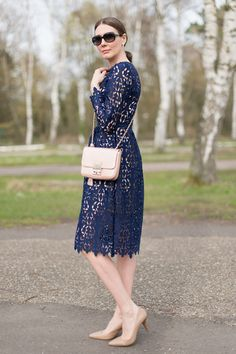 Fashion: 'My Favorite Blue Lace Dresses for Holidays – Part I' | Mood For Style - Fashion, Food, Beauty & Lifestyleblog