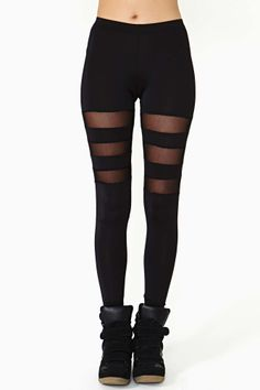 Shadow Line Leggings   Shop Clothes at Nasty Gal