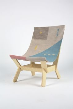 the dhurrie chair by pål rodenius