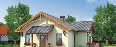 Proiect casa mica doar cu parter cu suprafata de 90 mp – Idei case Gazebo, Outdoor Structures, Cabin, House Styles, Home Decor, Kiosk, Decoration Home, Room Decor, Pavilion