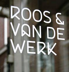 Mixed Graphic Design Inspiration Roos & Van De Werk by Taken By Storm