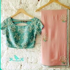 Pure georgette saree with full emb blouse .  Price : INR 1900 + SHIPPING  BOOK FAST  Premium quality  #sareefashion #southasianwedding #indiansaree #desifashion #sareelove #saree