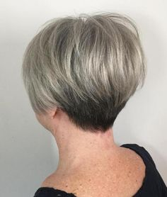Ash Blonde Balayage Pixie Other Haircut For Older Women, Haircuts For Fine Hair, Hairstyles Over 50, Pixie Hairstyles, Cool Hairstyles, Pixie Haircuts, Wedge Bob Haircuts, Stacked Hairstyles, Korean Hairstyles