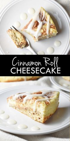 A creamy cheesecake for cinnamon lovers!